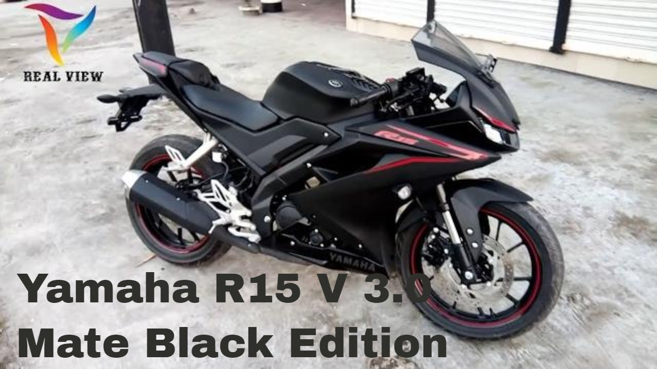 Yamaha R15 V 3 0 || Matte Black Edition || First Look in Bangladesh