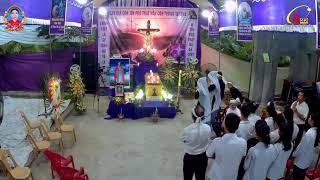 Trực Tiếp Các Giờ Viếng Và Cầu Nguyện Tại Lễ Tang Bà Philumena Trần Thị Xuyên Đền Thánh Bác Trạch