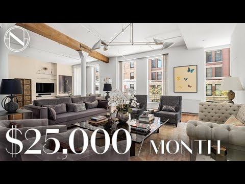 Inside a 4,000+ SQ FT Premier Loft in SoHo / NoLITA | Unlock