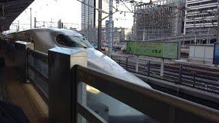 <新幹線の車窓から> のぞみ315号 名古屋→新大阪 進行方向左20170317[Victor Video]