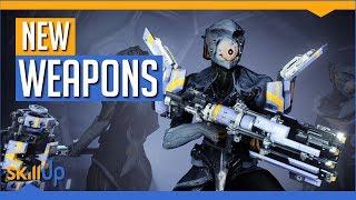 Warframe   New Weapons + How to Get Them! (Arca Plasmor, Scisco, Titron & Armor)
