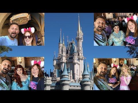 We Had Breakfast At Cinderella's Royal Table Inside The Castle & Met All The Disney Princesses!!!