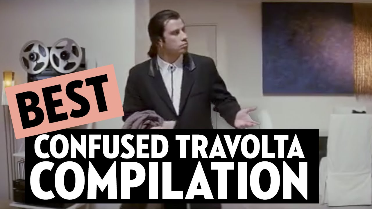 CONFUSED TRAVOLTA MEME COMPILATION