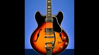 Deadly Shuffle with Jared 1965 Gibson ES-335TD Custom Factory Bigsby