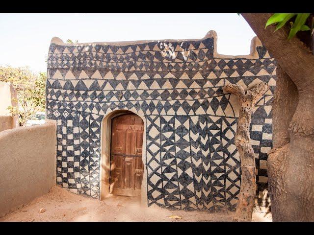 National dance. Tiébélé, Burkina Faso.