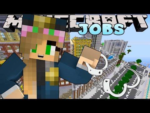 Minecraft Jobs - Little Kelly - POLICE ACADEMY!