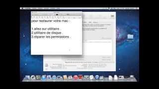 comment réparer votre mac ( lenteur et erreurs )