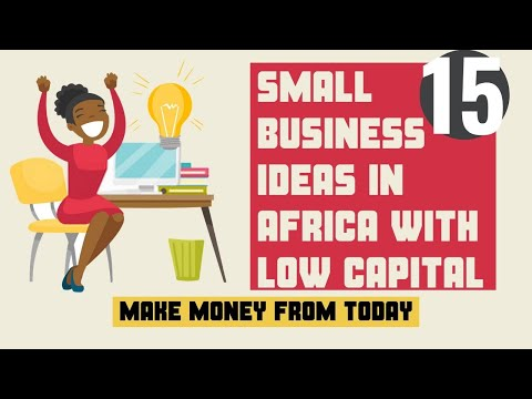 Top 15 Small Business Ideas In Africa With Low Capital