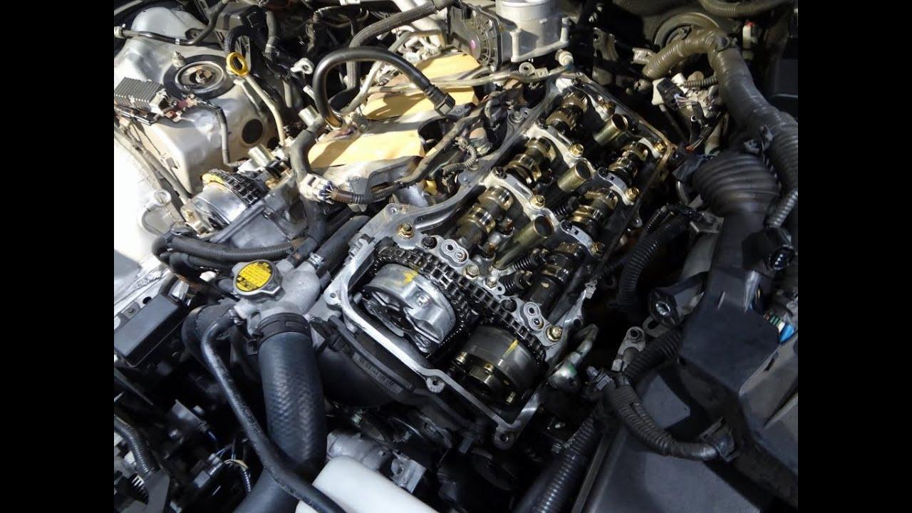 Toyota Lexus Engine V6 35L 2GRFE, FSE, FXE, FXS Valve Seal Replacement  YouTube