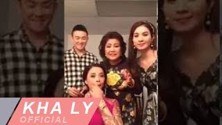 """Hậu trường Kha Ly vai luật sư được """"ba"""" Lương Thế Thành ủi đồ trong kịch ở Mỹ"""
