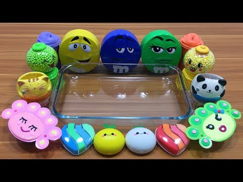 Mixing Random Things into Handmade Slime #2 !! SlimeSmoothie Satisfying Slime Videos