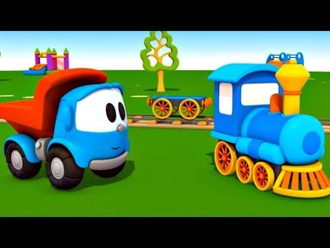 leo junior bir buharlı tren yapıyor  eğitici çizgi film  türkçe izle