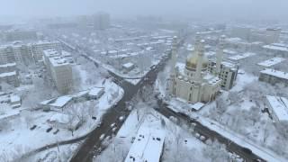 Зима в Алматы 2017г.
