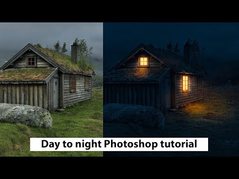 DAY TO NIGHT|2019|PHOTOSHOP|TUTORIAL|by DS WORKS | NEW video thumbnail