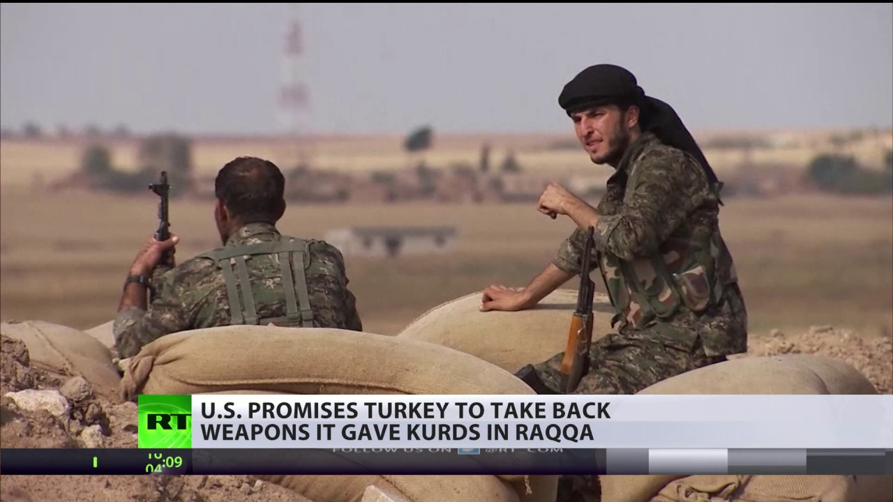 US promises Turkey to take back weapons from Kurds after ISIS defeat