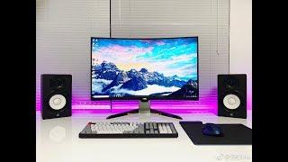 【轻电科技】这台显示器有点香 明基 EX3203R :32英寸 144Hz 支持HDR 竟然还能自动调光丨BenQ EX3203R Review
