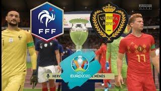 FRANCE BELGIQUE Finale EURO 2020 Difficulté Ultime FIFA 20