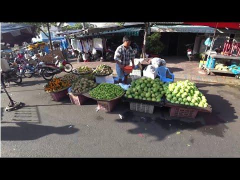 A Morning Market In Ho Chi Minh City