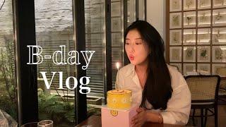 [VLOG] 생일브이로그 | 브이로그 | 흑백사진 | …