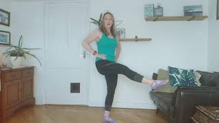 Video 20 More balance, lots of hip work and hello tummy muscles!