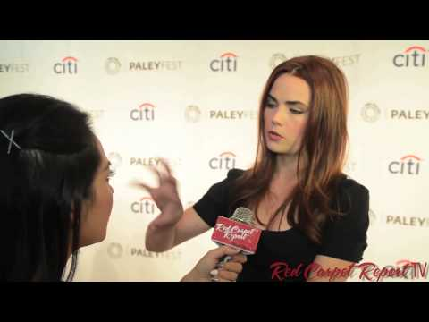 Rebecca Rittenhouse at PaleyFest Fall TV P for Fox's Red Band Society RedBandSociety