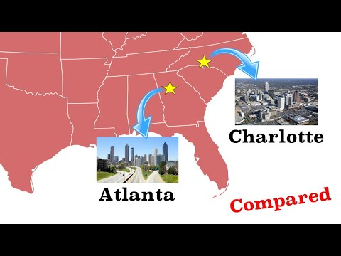 Atlanta and Charlotte Compared