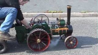 3 inch Burrell traction engine