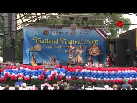 Thailand Festival 2011 in Stockholm (Part 1/2) - on the stage
