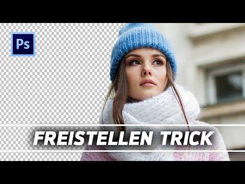 Objekte FREISTELLEN Mit Nur EINEM KLICK || Photoshop Tutorial