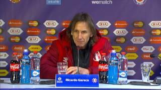 """Copa América 2015: Gareca: """"Jugar con uno menos tanto tiempo es bastante complicado"""""""