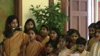 Jan 2013 Vasanth Panchami Saraswathi song 4