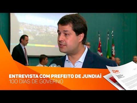 Entrevista com Prefeito de Jundiaí sobre os 100 dias de governo - TV SOROCABA/SBT