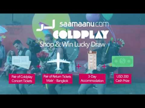 Win Coldplay Tickets with Saamaanu