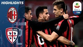 Milan 3-0 Cagliari | Milan Cruise to Victory at the San Siro | Serie A