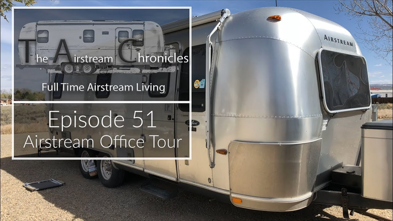 Wonderful Airstream Tour   My Mobile Tiny Home Office Space