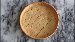 완벽한 타르트지 만들기, 파트 슈크레 ( tart crust, tart)