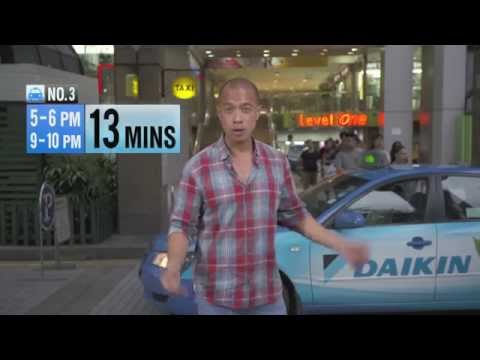 3 Worst Places To Get A Cab In Singapore | It Figures | Channel NewsAsia