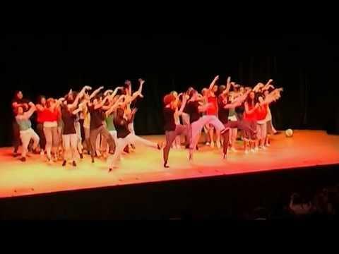 Stoke School Sports Partnerships 'Olympic' Dance Event