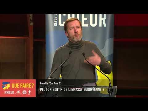 Paul Magnette: peut-on sortir de l'impasse européenne ?