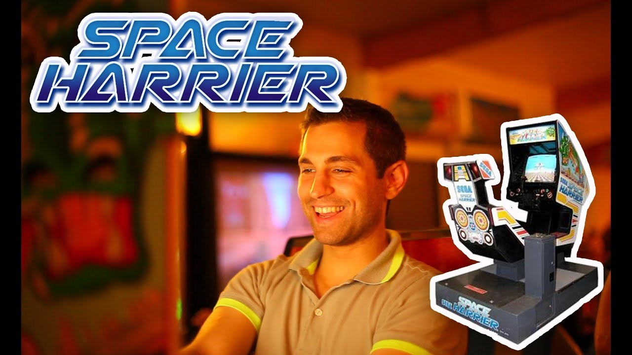 borne arcade space harrier