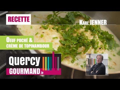 recette-:-oeufs-pochés-&-crème-de-topinambour---quercygourmand.tv