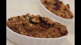 Dry Fruit Crumble | Dessert Recipes | Sanjeev Kapoor Khazana