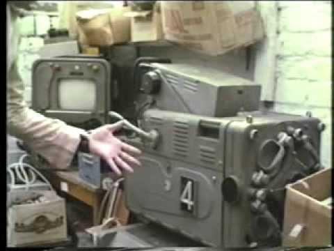 Marconi MkIII TV camera from BBC TV Dickinson Road studio, Manchester