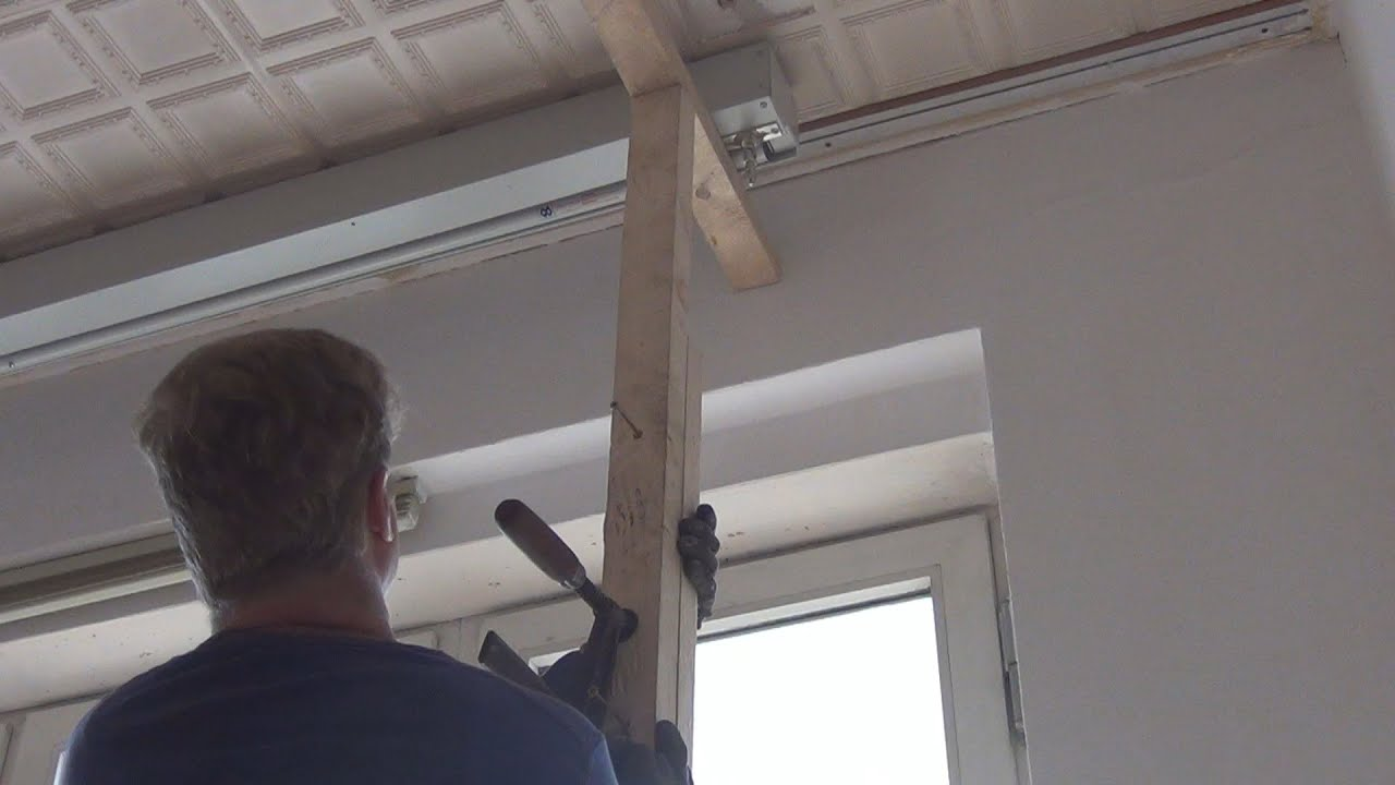 Macgyver Moments Installing A Heavy Projector Screen On The