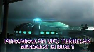 """VIDEO PENAMPAKAN UFO TERBESAR """"TEREKAM CCTV MENDARAT DI BUMI"""" PENAMPAKAN UFO NYATA DI DUNIA """""""