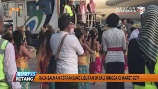 Raja Salman Perpanjang Liburan di Bali