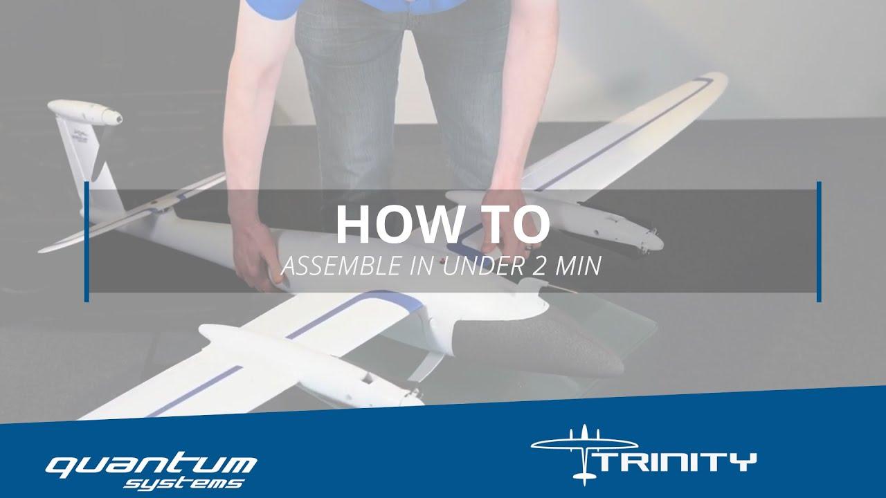 Quantum Systems Trinity F9 VTOL — Sky Flight Robotics