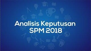 Analisis keputusan SPM 2018