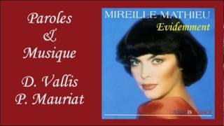 Evidemment - Mireille Mathieu