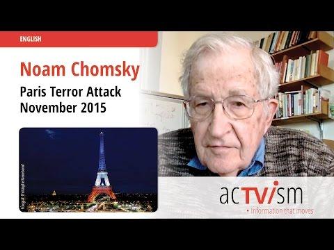Noam Chomsky on the Terror attacks in Paris